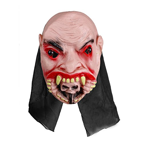 Home-World Scary Rubber Zombie Devil Mask Halloween Masquerade Party Costumes Haunted House Props (Style (Haunted House Prop Ideas)