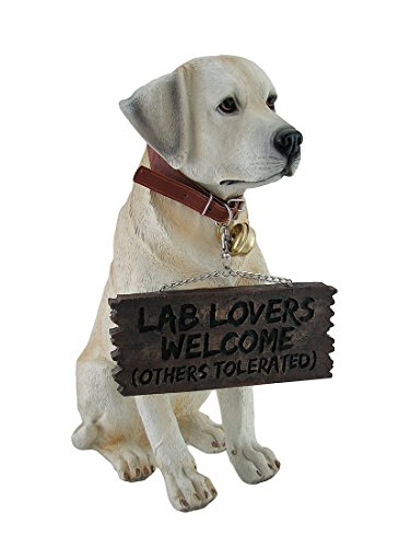 Labrador Retriever Items - Adorable Labrador Retriever Garden Welcome Statue