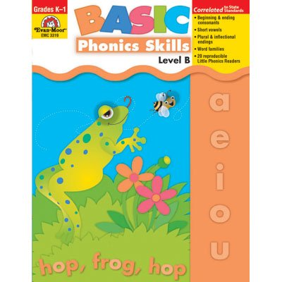 Basic Phonics Skills, Grades K-1 (Level B)