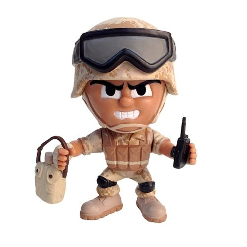 The Party Animal Lil' Troops Desert Trooper Series 1 - 1