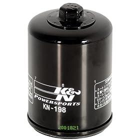 Moto Filtre à huile k/&n kn-198