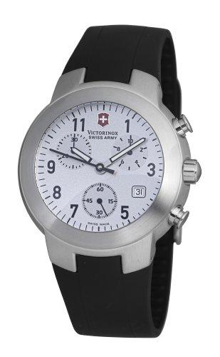 Victorinox Maverick Chrono V.25527 - Reloj analógico de cuarzo para hombre, correa de goma color negro