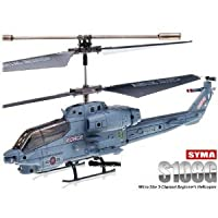 SYMA S108G 3.5 CH Infrared Mini Radio Controlled Marine Cobra Helicopter Gyro from Syma