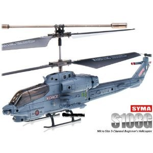 SYMA S108G 3.5 CH Infrared Mini Radio Controlled Marine Cobra Helicopter Gyro