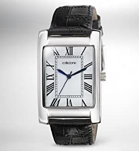 Collezione Rectangular Face Analogue Watch