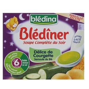 Blédiner Soupe Délice de courgettes semoule