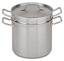 Royal Industries (ROY SS DB 20) - 20 Qt Induction-Ready Stainless Steel Double Boiler