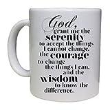 AA Serenity Prayer - Cup/Mug - Great Gift Idea