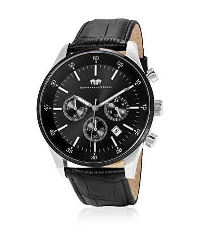 Rhodenwald & Söhne Uhr mit japanischem Quarzuhrwerk 10010071 schwarz 45 mm