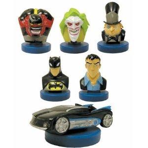 Picture of AAglobal Batman Toy Figure Set - 6 Vending Machine Toys (B000PCCIQC) (Batman Action Figures)