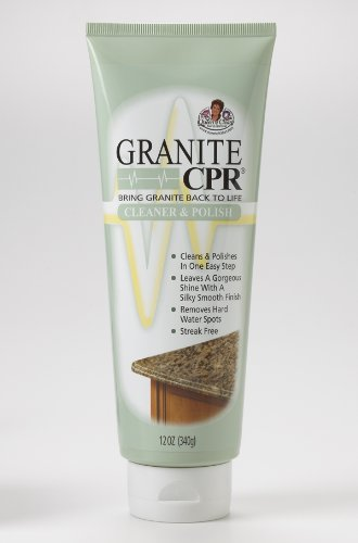 Granite CPR Cleaner & Polish 12 oz Tube