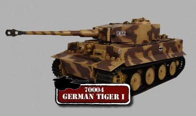 Buy Low Price Panache Place 1:18th Scale Bravo Team German Tiger I Figure (B001O89R38)