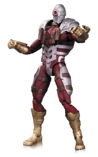 DC COMICS THE NEW 52 SUPER VILLAINS SUICIDE SQUAD DEADSHOT ACTION FIGURE