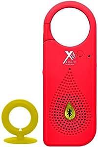 Xit AXTCXR Bluetooth Clip X Speaker, Red