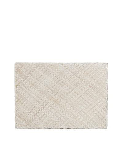 Lene Bjerre Karly Light-Linen Woven Wood Placemat
