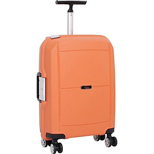 it-luggage-monoguard-215-inch-8-wheel-carry-on-spinner-closeout-orange