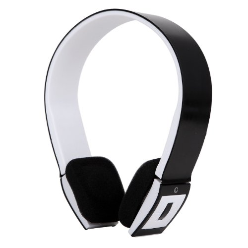 Hde Slim Wireless Bluetooth V3.0 Stereo Headphones W/ Compatible Usb 2.0 Bluetooth Dongle Adapter (Black)