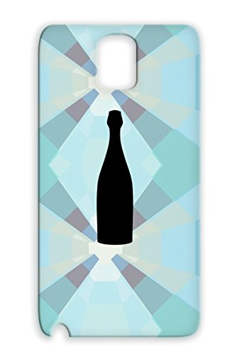 Sparkling Occasion Wedding Boozing Wine Booze Alcohol Occasions Bottle Holidays Occasions Winery Boozer Weddings Vine Champagne Black Case For Sumsang Galaxy Note 3 front-801877