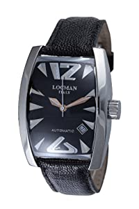 Locman Men's 150BK Panorama Collection Steel Watch from Locman