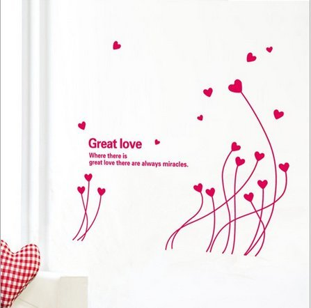 Love Living Room Cozy Decoration Wall Stickers front-670690