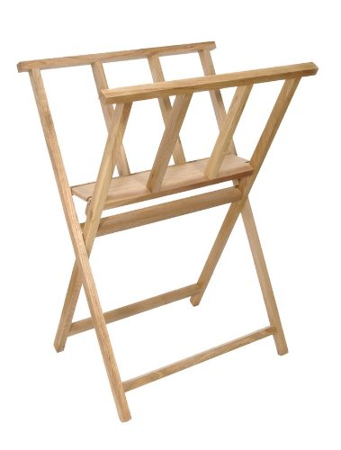 Darice 16 1/2-Inch-by-23-Inch Wood Print Rack