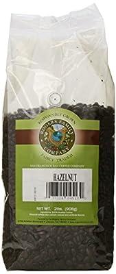 Rogers Family Company Whole Bean Coffee, Hazelnut, 32 Ounce