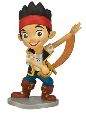Disney Jr. Jake and the Neverland Pirates 3 inch Jake Action Figure PVC Figurine - 1