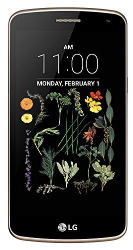"""LG K5 Smartphone, Display IPS 5.0"""", 4G LTE, Fotocamera 5MP con frontale 2MP, Memoria interna 8 GB, 1 GB RAM, Oro [Italia]"""
