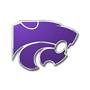 Buy NCAA Kansas State Wildcats Die Cut Color Automobile Emblem by Team ProMark