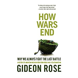 How Wars End Hörbuch