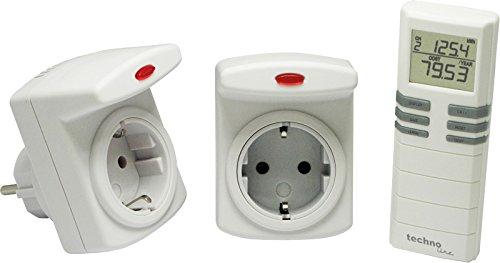Technoline Cost Control RC - Medidor del consumo energético, color blanco