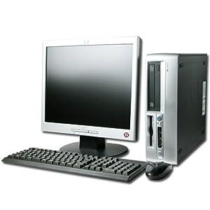 "HP Compaq DC5150 Internet Ready Desktop Computer Full System - AMD 3.2Ghz Processor - 2Gb Memory - 80Gb hard disk - DVDROM - Wireless enabled - 18"" Inch Flat screen monitor - Windows XP operating system installed"