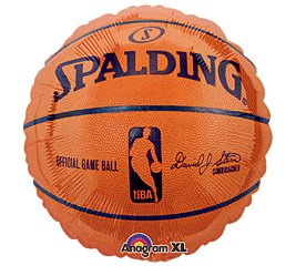 Nba Spalding Basketball Mylar