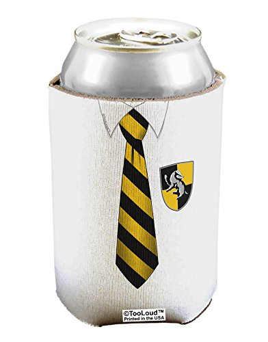 TooLoud Wizard Uniform Yellow and Black AOP Can / Bottle Insulator Coolers - 6 Pieces All Over Print