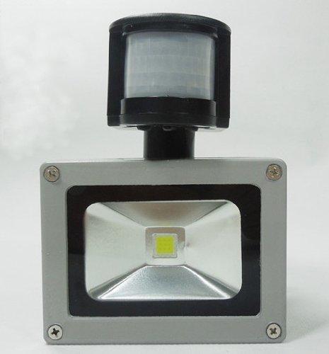 Rextin 50W Ac85-265V Pir Motion Sensor Led Flood Light Lamp Outdoor Floodlight For Home Garden Landscape