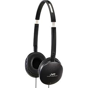 JVC America FLAT Headpones - Black