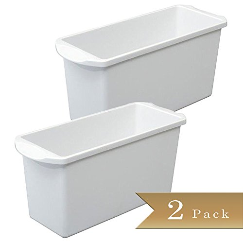 Set of 2 - Ice Cube Bin - Container - Box (In Freezer Ice compare prices)