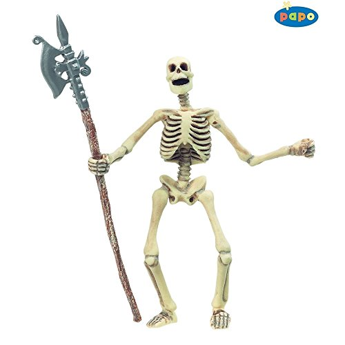 Papo Glow In The Dark Skeleton - (glows ) Toy Model Fantasy Horror Ghoul Figure (Glow In The Dark Skeleton Suit)