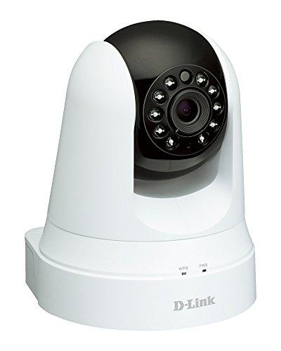 D-Link DCS-5020L Videocamera di Sorveglianza Cloud Wireless N, Visore notturno Day&Night, Funzionalità Range Extender, Motorizzata con Movimenti Pan/Tilt/Zoom, Rilevatore di Movimenti e Suoni, Bianco