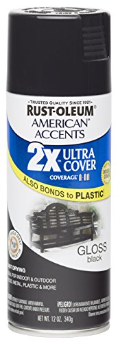 rust-oleum-280723-american-accents-ultra-cover-2x-spray-paint-gloss-black-12-ounce
