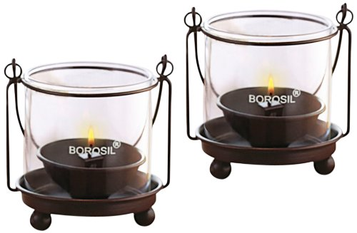 Borosil Hanging Diya Lights