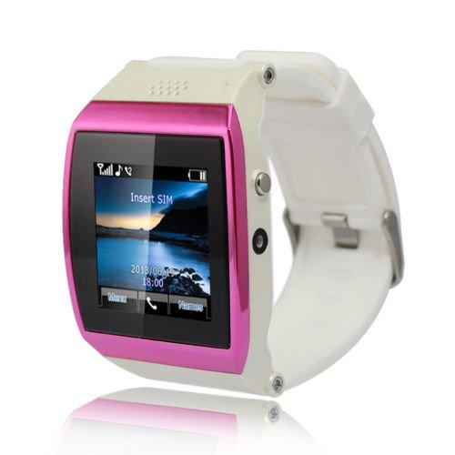 "Unihandbag White Pro Bluetooth Smart 1.55""Led U8 Wrist Watch Phone For Smartphone(Android/Iphone) Us Plug"
