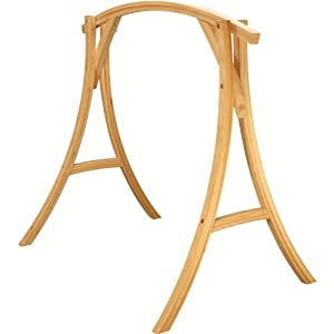 Amazon.com : Roman Arch Wooden Hammock Chair Stand : Patio ...