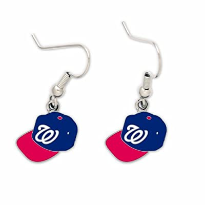 Washington Nationals Official MLB 3/4 inch Earrings