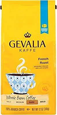 Gevalia French Roast Whole Bean Coff 12 oz.