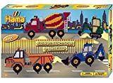 Hama Beads Construction Vehicles Gift Set