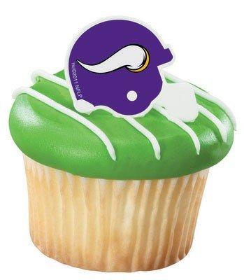 Minnesota Vikings Cupcake Rings