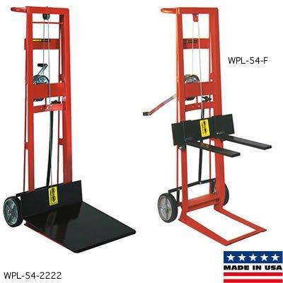Steel Winch PedaLift 2 Wheel 750lb Cap 22