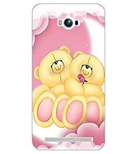 ASUS ZENFONE MAX TEDDY BEAR Back Cover by PRINTSWAG
