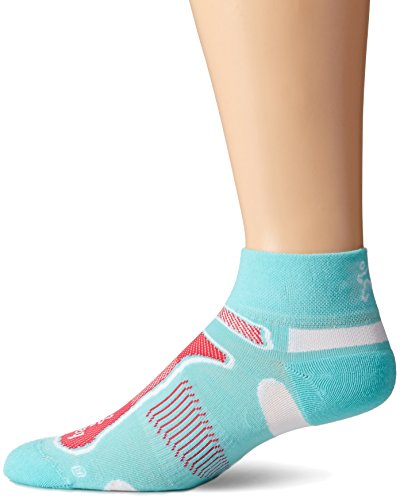 Balega Ultralight Quarter Socks, Aqua, Medium (Hitech Shoes compare prices)